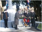 Unveiling of Commemorative Paving Stone – Lance-Corporal Michael O'Leary