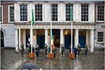 Flag Raising Ceremony, Dublin Castle