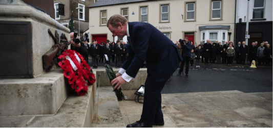Remembrance Ceremonies – Sunday, 13 November, 2016