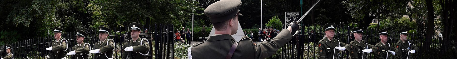 Armistice Day Commemorations Glasnevin 11 November