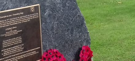 Irish Comrades in Arms – Frezenberg Ridge Memorial – 16th (Irish) and 36th (Ulster) Divisions