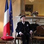 Sir John Leslie Receives the Légion d'Honneur