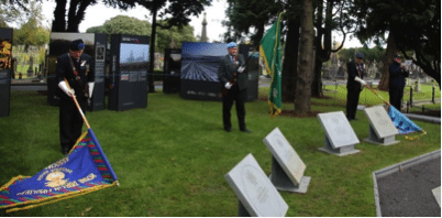 Unveiling of Victory Cross Commemorative Stones, Glasnevin 11 November, 2016