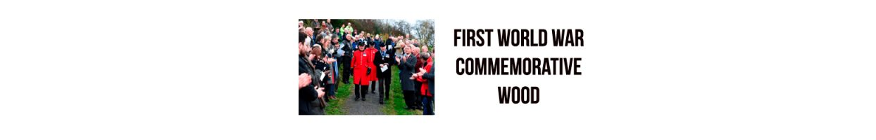 First World War Commemorative Wood – Brackfield Wood – Northern Ireland