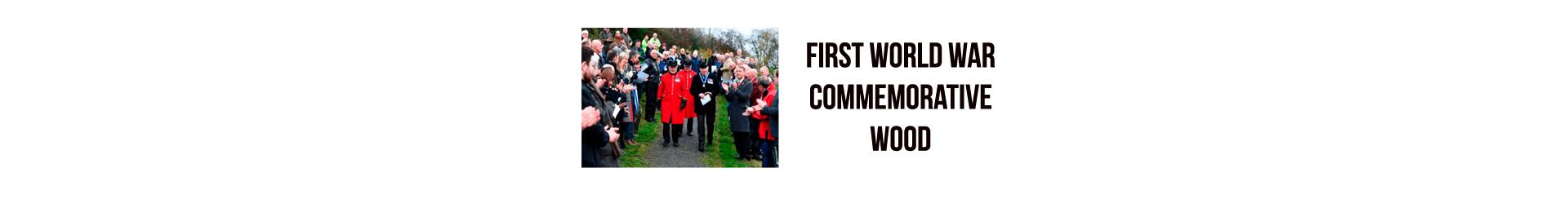 First World War Commemorative Wood – Brackfield Wood – Northern Ireland