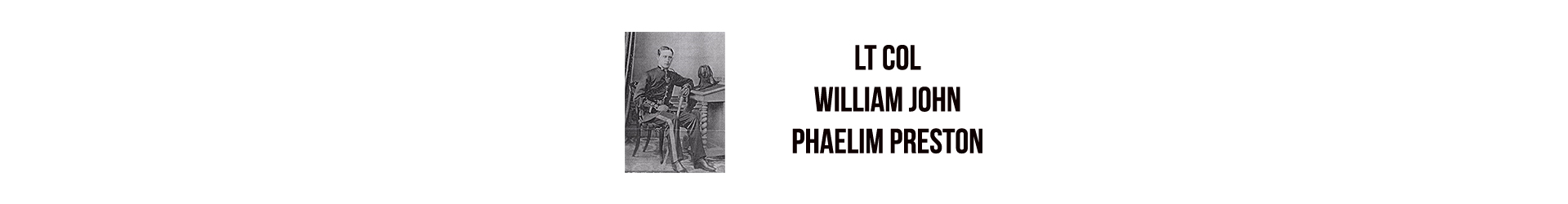 Lt Col William John Phaelim Preston D.S.O., O.B.E.