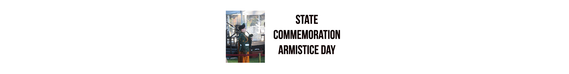State Commemoration Armistice Day – Glasnevin Cemetery