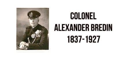 Colonel Alexander Bredin 1837-1927