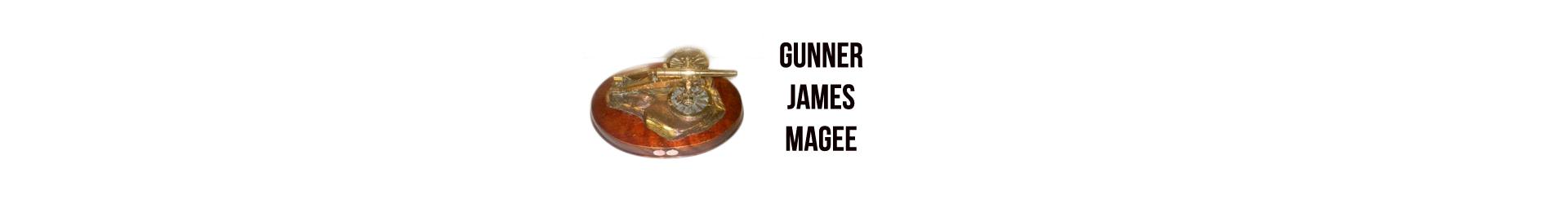 Gunner James Magee