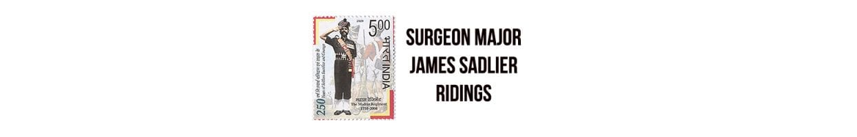 Surgeon Major James Sadlier Ridings