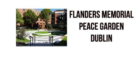 Inauguration of of Flanders Memorial – Peace Garden Dublin