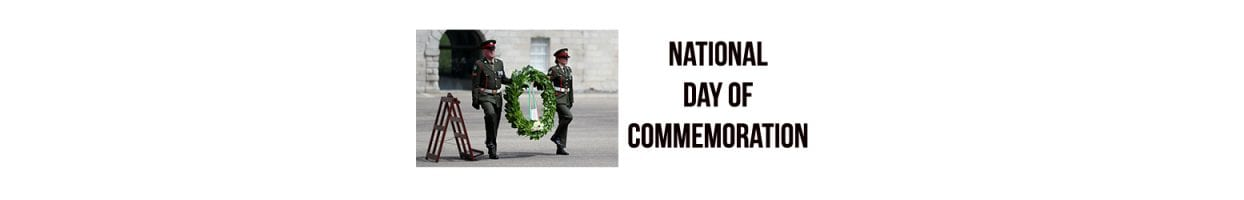 National Day of Commemoration – Sunday 14 July 2019