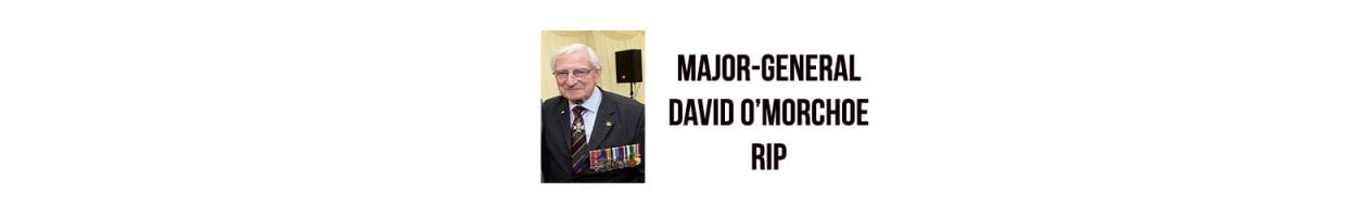 Major-General David O'Morchoe RIP – MHIT Board of Directors